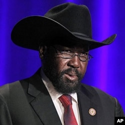 President of South Sudan Salva Kiir Mayardit (file photo)