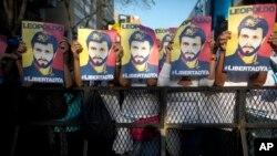 López cumplirá tres años en prisión el próximo sábado, razón por la que el partido que fundó, Voluntad Popular (VP), ha convocado una movilización para ese día.