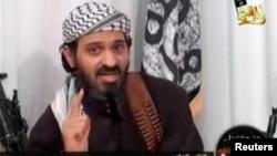 Deputy leader of al-Qaida in Yemen, Said al-Shihri, a Saudi national identified as Guantanamo prisoner number 372, speaks in a video posted on Islamist websites, January 24, 2009.
