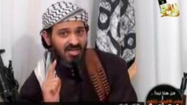 Deputy leader of al-Qaida in Yemen, Said al-Shihri, a Saudi national identified as Guantanamo prisoner number 372, speaks in a video posted on Islamist websites, January 24, 2009.