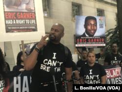 Protest zbog odluke Sekretarijata za pravosuđe u slučaju Erika Garnera