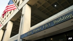 FILE - The FBI's J. Edgar Hoover headquarters building in Washington.