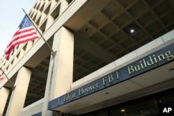 FILE - The FBI's J. Edgar Hoover headquarter building in Washington.