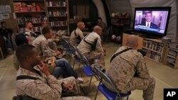 Des militaires Americains, le 2 mai 2011.