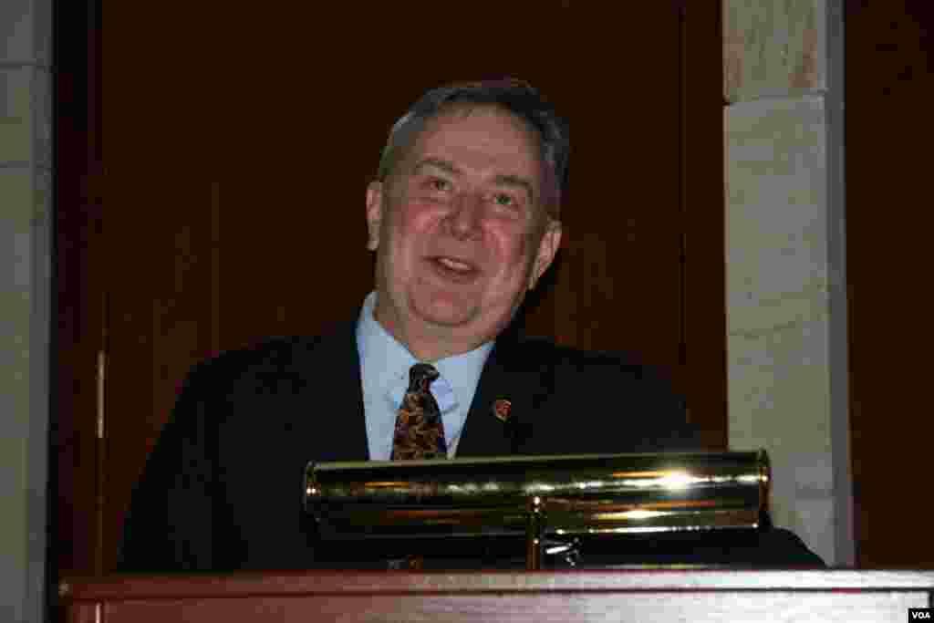 美国德州联邦众议员斯托克曼(Steve Stockman)