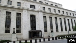 美联储在华盛顿的总部大楼(资料照)