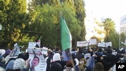 敘利亞的反政府示威