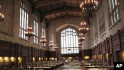密西根大学法学院阅览室