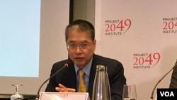 台灣遠景基金會執行長賴怡忠2019年10月3日參加2049項目研究所美日台安全合作研討會