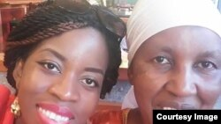Shungu Jani and her mum Moira Rufaro Jani on Mothers' Day.