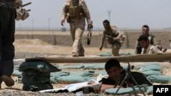 6月29日库尔德军队与伊拉克和黎凡特伊斯兰国极端分子作战