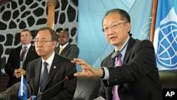عالمی بینک کے صدر اور اقوام متحدہ کے سکریٹری جنرل