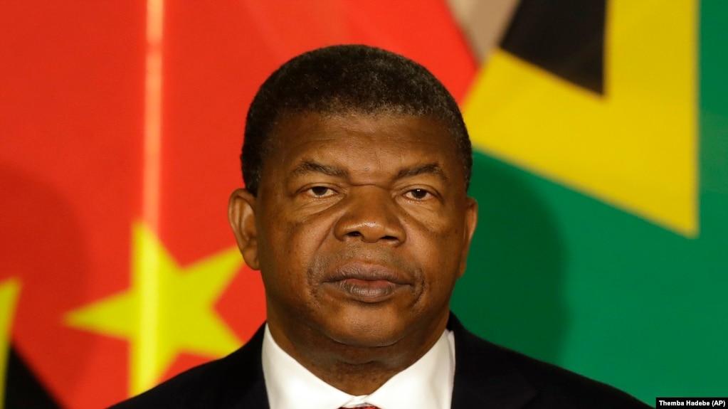 Le président du Angola, Joao Lourenço, en visite à Prétoria, le 24 novembre 2017.