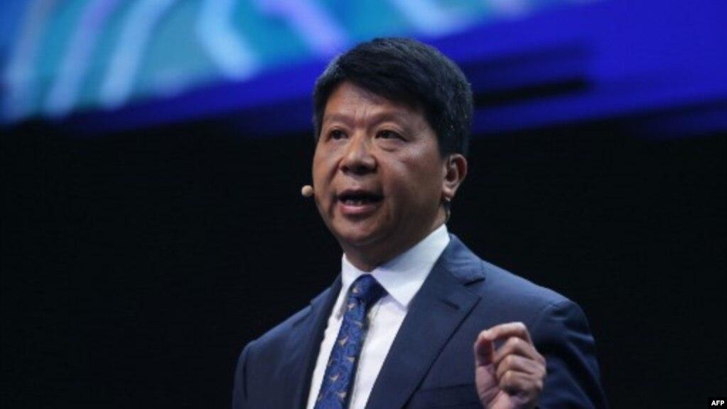 Chủ tịch Huawei Guo Ping.