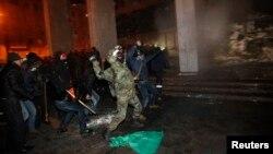 Киев. Украина. 26 января 2014 г.