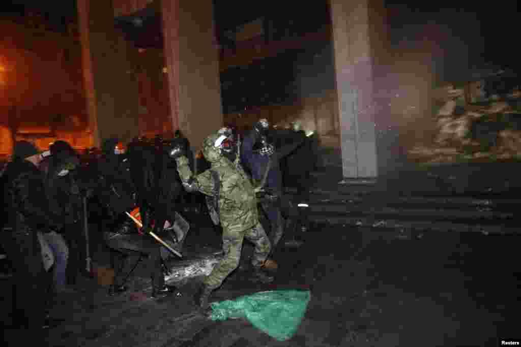 کیف، اوکراین، ژانویه ۲۰۱۴