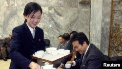 평양에 최신 커피전문점 등장