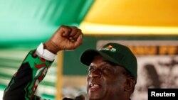 Zimbabve prezidenti Emerson Mnanqaqva