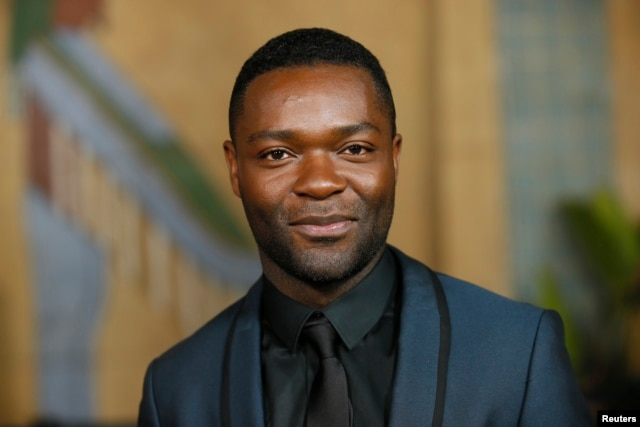 """FILE - Actor David Oyelowo, star of """"Selma"""" who was overlooked in the 2015 Oscar nominations, says this year's lack of celebration of actors or color is """"unforgivable."""""""