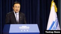 주철기 청와대 외교안보수석. (자료사진)