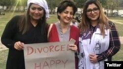 طلاق یافتہ اور خوش