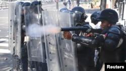 Durante las protestas registradas en 2014 fueron asesinados civiles y militares con armas de fuego en medio de las manifestaciones.