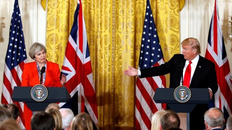 PM Inggris, Presiden Trump akan Bahas Isu Bocornya Detail Serangan Manchester