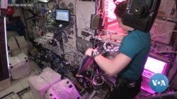 Astronauts Entertain, Educate Children from ISS
