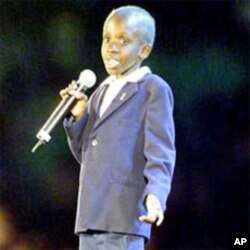 Nkosi johnson, 13th International Aids Conference, Durban, 2000