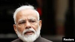 بھارتی وزیر اعظم نریندر مودی، فائل فوٹو