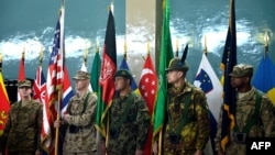 Afganistanska Nacionalna armija tokom primopredaje dužnosti, Kabul, 10. februar, 2013.