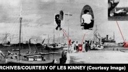 ภาพถ่ายที่เชื่อว่าเป็น เอมิเลีย เอียร์ฮาร์ท ถูกกดชัตเตอร์หลังสหรัฐฯขาดการติดต่อจากเครื่องบินของเธอ เมื่อ 2 กรกฎาคม 2480