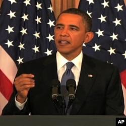 奥巴马总统讲话支持阿拉伯改革,但有人批评他表态过晚。