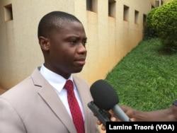 Mahamadi Rouamba, promoteur de Beoogo Lab à Ouagadougou le 24 novembre 2018. (VOA/Lamine Traoré)