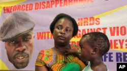 h 8, 2016. Dzamara was pleading for the return of her activist husband, abducted by suspected state security agents a ye