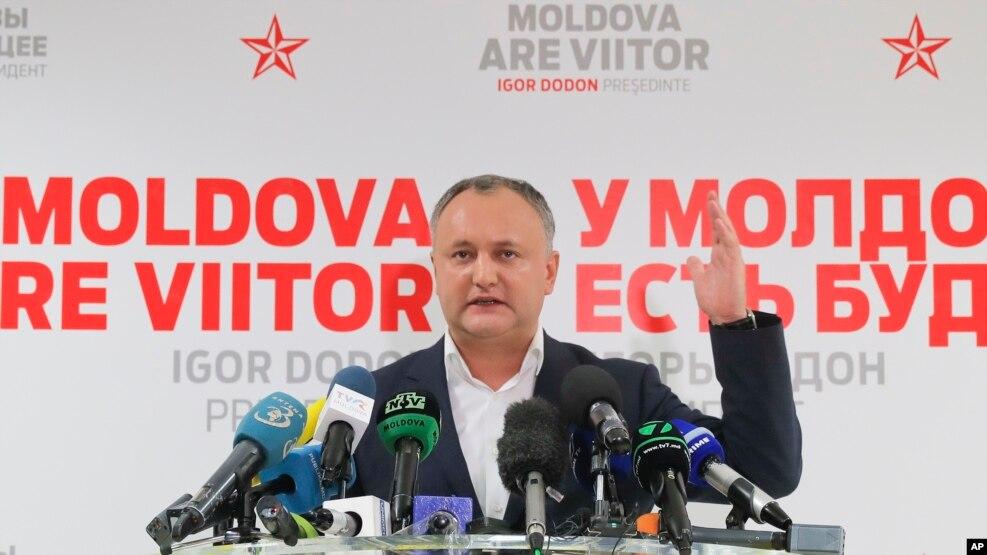 Igor Dodon fiton zgjedhjet në Moldavi