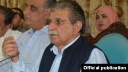 پاکستان کے زیرانتظام کشمیر کے وزیراعظم راجہ فاروق حیدر