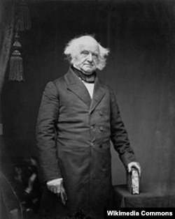 Portrait of Martin Van Buren by Mathew Brady