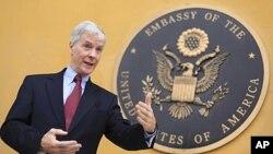 美国驻阿富汗大使克罗克(资料照)