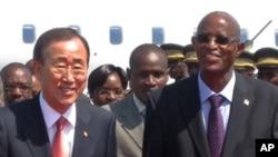 Le secrétaire général de l'ONU s'était rendu à Bujumbura en juin dernier dans l'aider à résoudre la crise politique