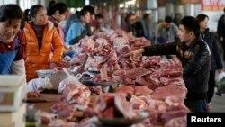 Trung Quốc được coi là quốc gia tiêu thụ thịt lợn nhiều nhất thế giới.