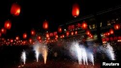 جشن سال نو چینی در پکن، ۳۱ ژانویه ۲۰۱۴