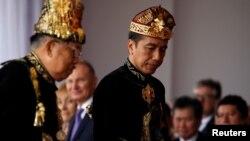 Le président indonésien Joko Widodo, Jakarta, 17 Agustus 2019.