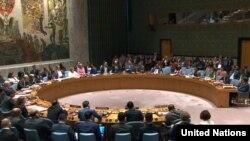 Sidang Dewan Keamanan PBB membahas kekerasan di Myanmar. (Foto: dok).