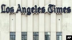 洛杉矶时报的大楼