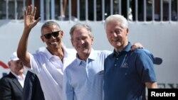 (Ji Çepê) Barack Obama, George W. Bush, Bill Clinton