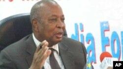 South Sudan Finance and Economic Minister David Deng Athorbei