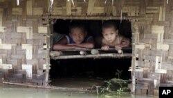 Burma agriculture flood