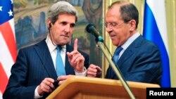 John Kerry û Sergey Lavrov.