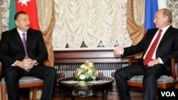 İlham Əliyev və Vlaidmir Putin